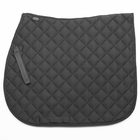 Elico Quilted Saddlecloth Black