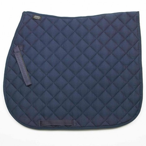 Elico Quilted Saddlecloth Navy