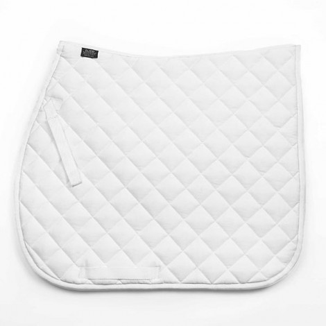 Elico Quilted Saddlecloth White