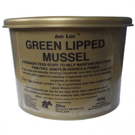 Elico Gold Label Green Lipped Mussel