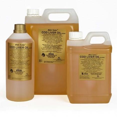 Elico Gold Label Cod Liver Oil