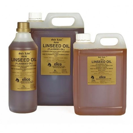 Elico Gold Label Raw Linseed Oil