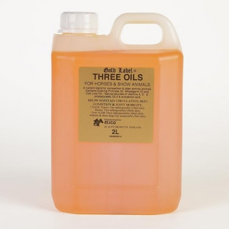 Elico Gold Labels Three Oils