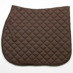 Elico Quilted Saddlecloth Brown