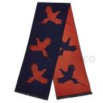 scarf-pheasant-navy